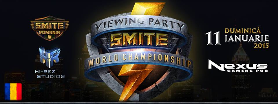 Photo of Primul Smite Viewing Party din Romania se intampla in Nexus Bar!