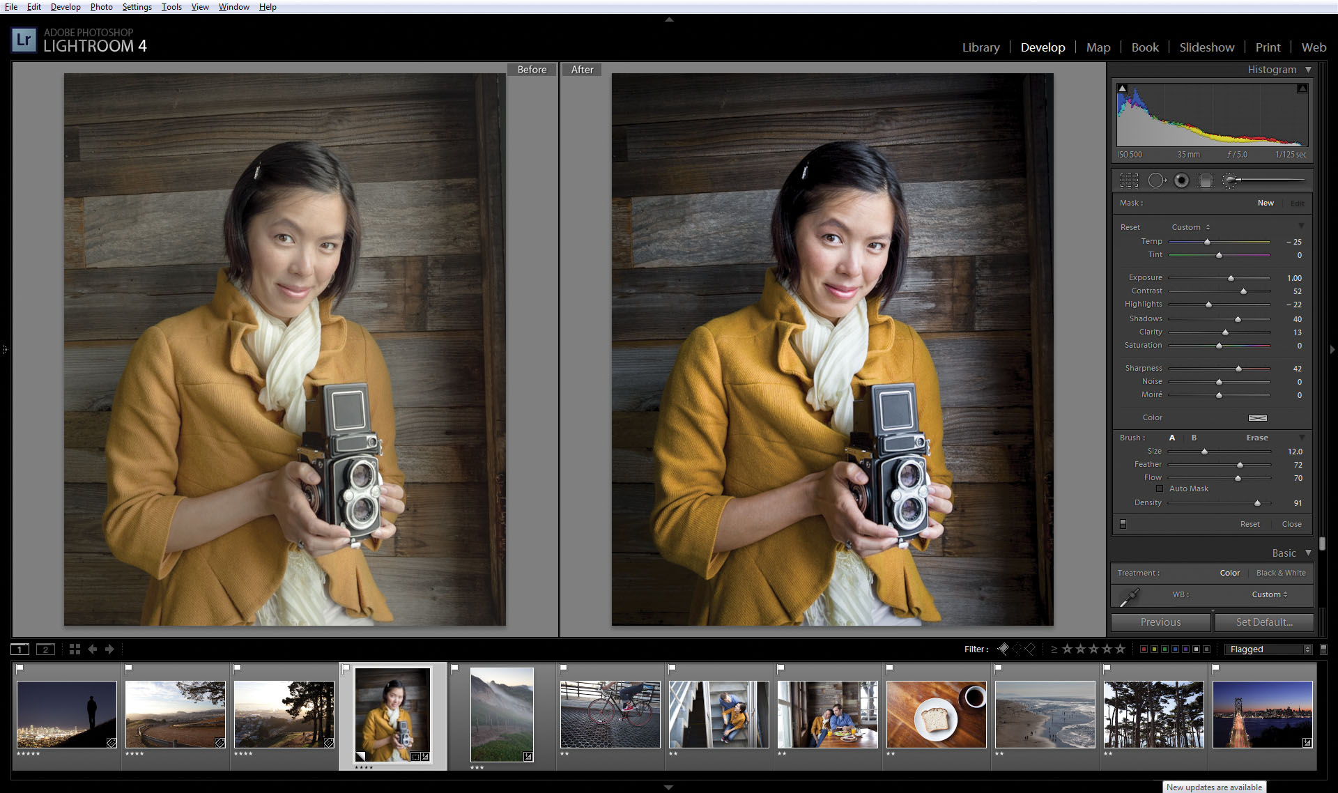 Photo of Adobe Lightroom, actualizat pentru iOS