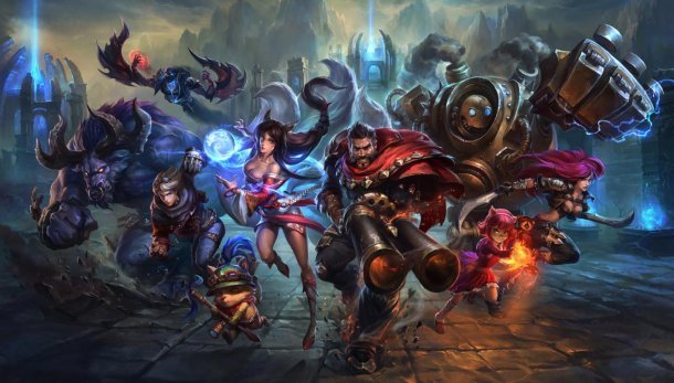 League of Legends Riot Games Tencent