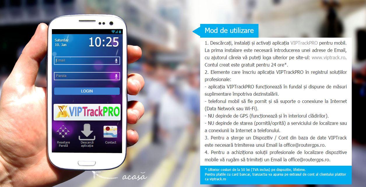 Photo of VIPTrack-Aplicatia care iti permite sa afli pe unde umbla copilul tau, angajatii sau prietenii