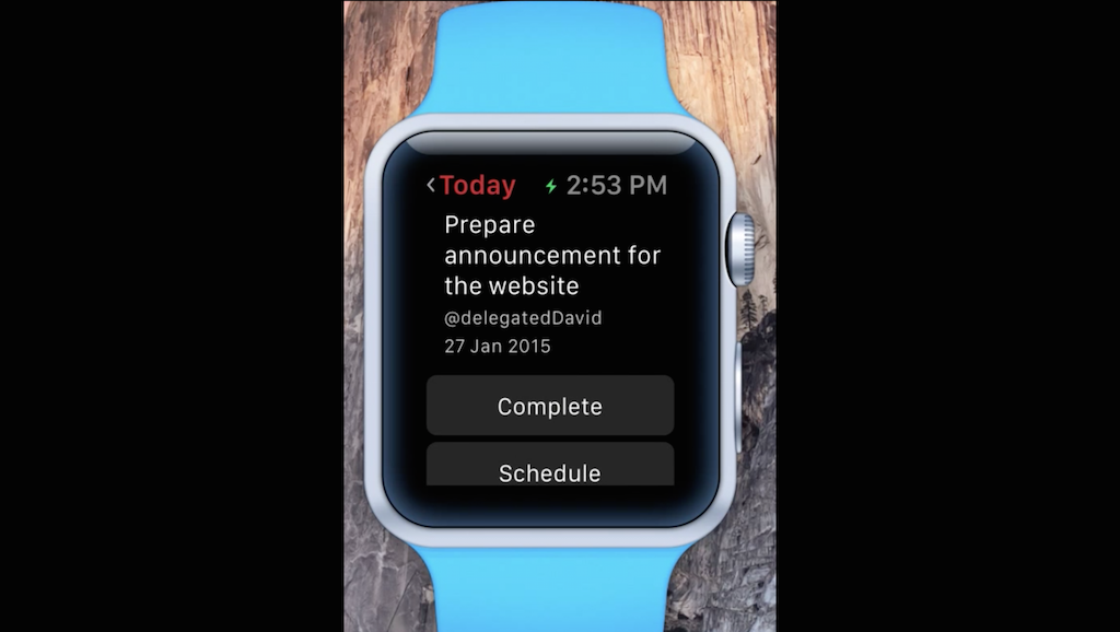 Photo of Vor incepe sa ne placa ceasurile inteligente? Todoist pentru Apple Watch.