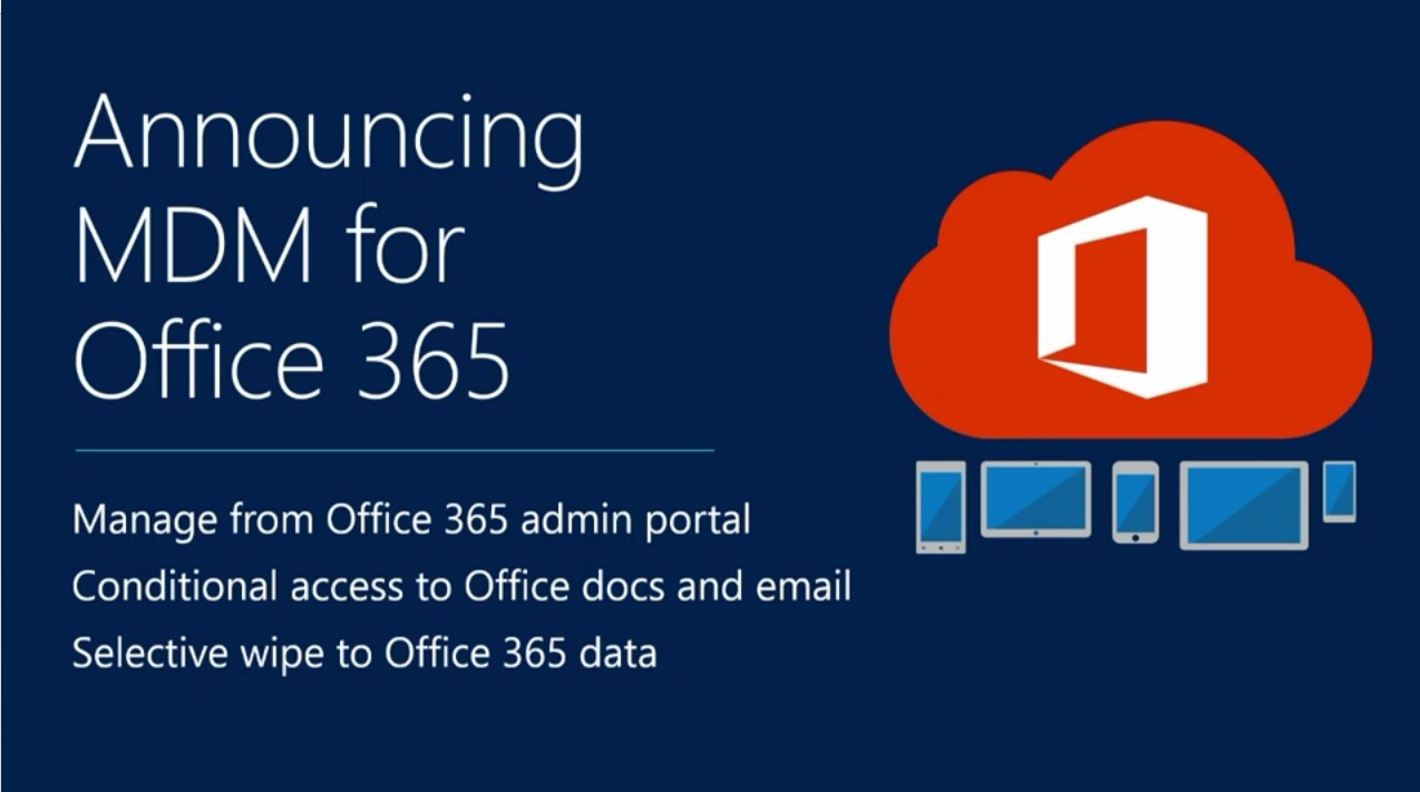 Photo of Microsoft adaugă MDM la Office 365