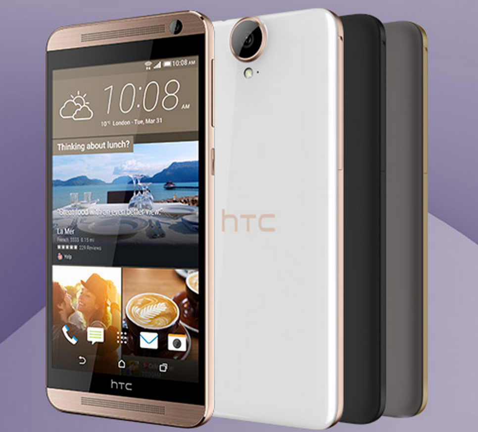 Photo of HTC One E9 Plus dezvăluit
