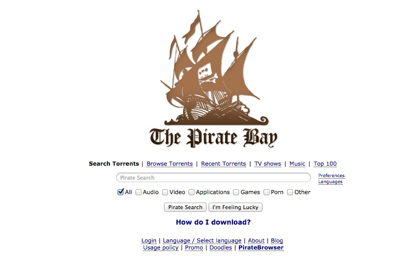 "Photo of The Pirate Bay devine ""imun"" la blocare!"