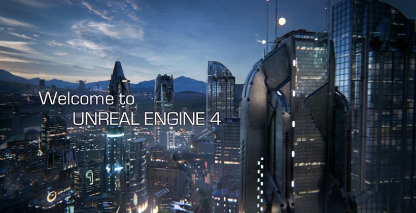 Unreal Engine 4 epic games microsoft apple