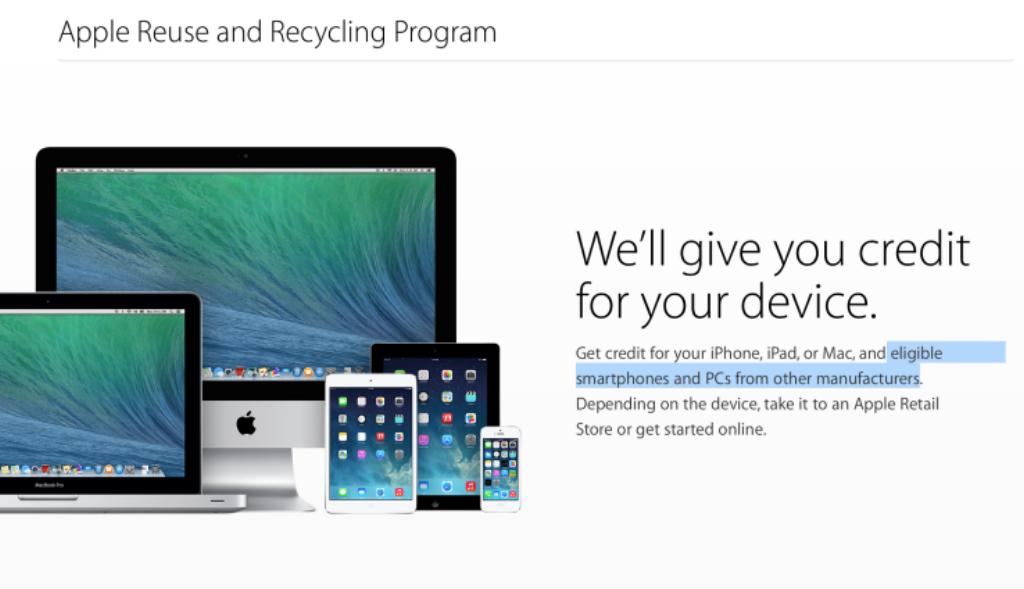 Photo of Apple îți vrea telefoanele și PC-urile vechi