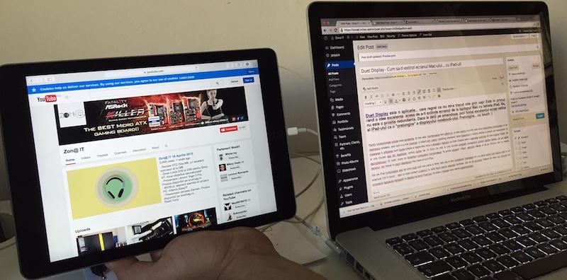 Photo of Duet Display – Cum sa-ti extinzi ecranul Mac-ului… cu iPad-ul!