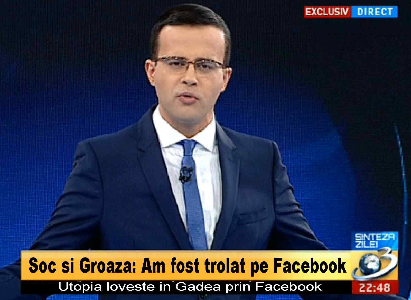 Photo of Facebook-ul clonat al lui Gâdea: dezinformare si ignoranță!
