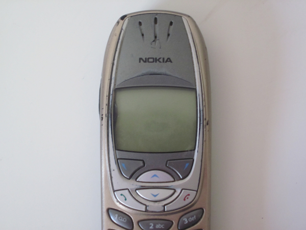 Nokia 6310 front