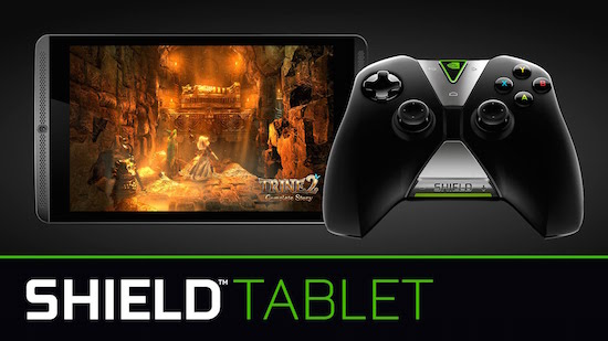 Nvidia Shield tablet-and-contoller