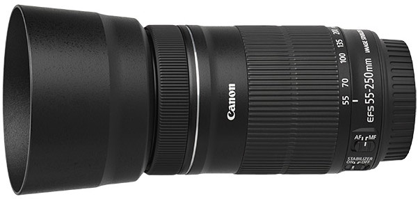 Obiective Canon EF-S 55-250mm STM