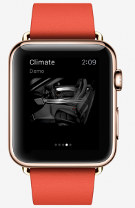Apple Watch Porche app