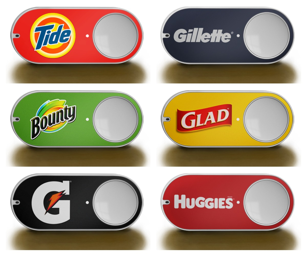 Photo of Amazon Dash: butonul de shopping.