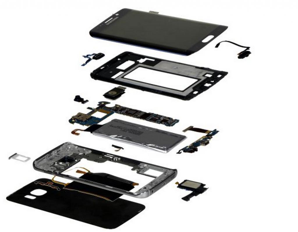 fabricarea lui Galaxy S6 Edge
