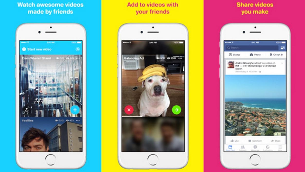 """Photo of Facebook anunță Riff: puteti acum produce clipuri video in mod """"cooperativ"""""""