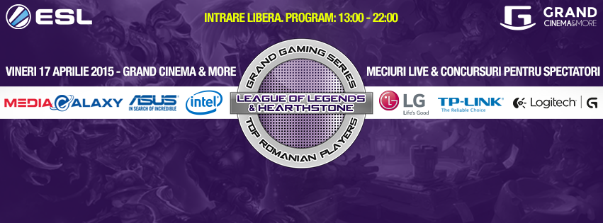 Photo of Inca o sesiune de gaming la Grand Cinema pe 17 Aprilie