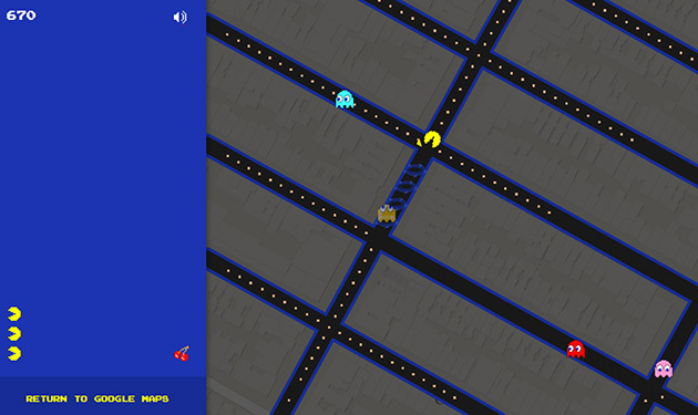 Photo of Pac-Man invadează Google Maps!