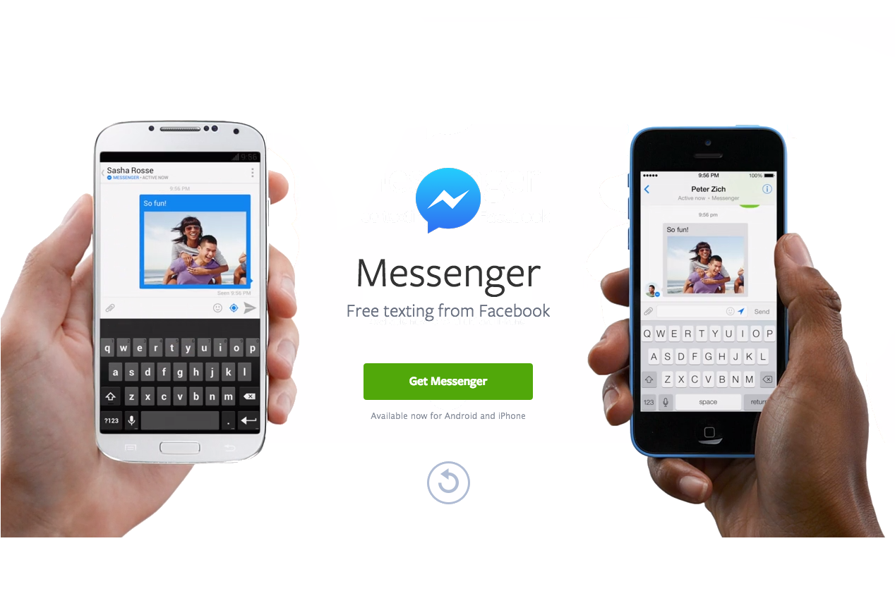 Apelurile video Facebook Messenger