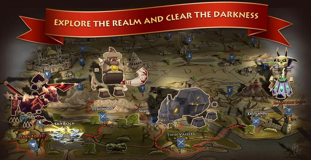 Photo of Download Elements Epic Heroes v1.2.6.apk MOD