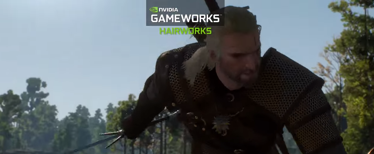 HairWorks pentru The Witcher 3