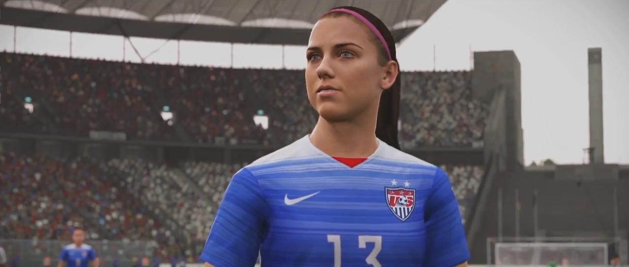 In Fifa 16 se poate juca si cu femei