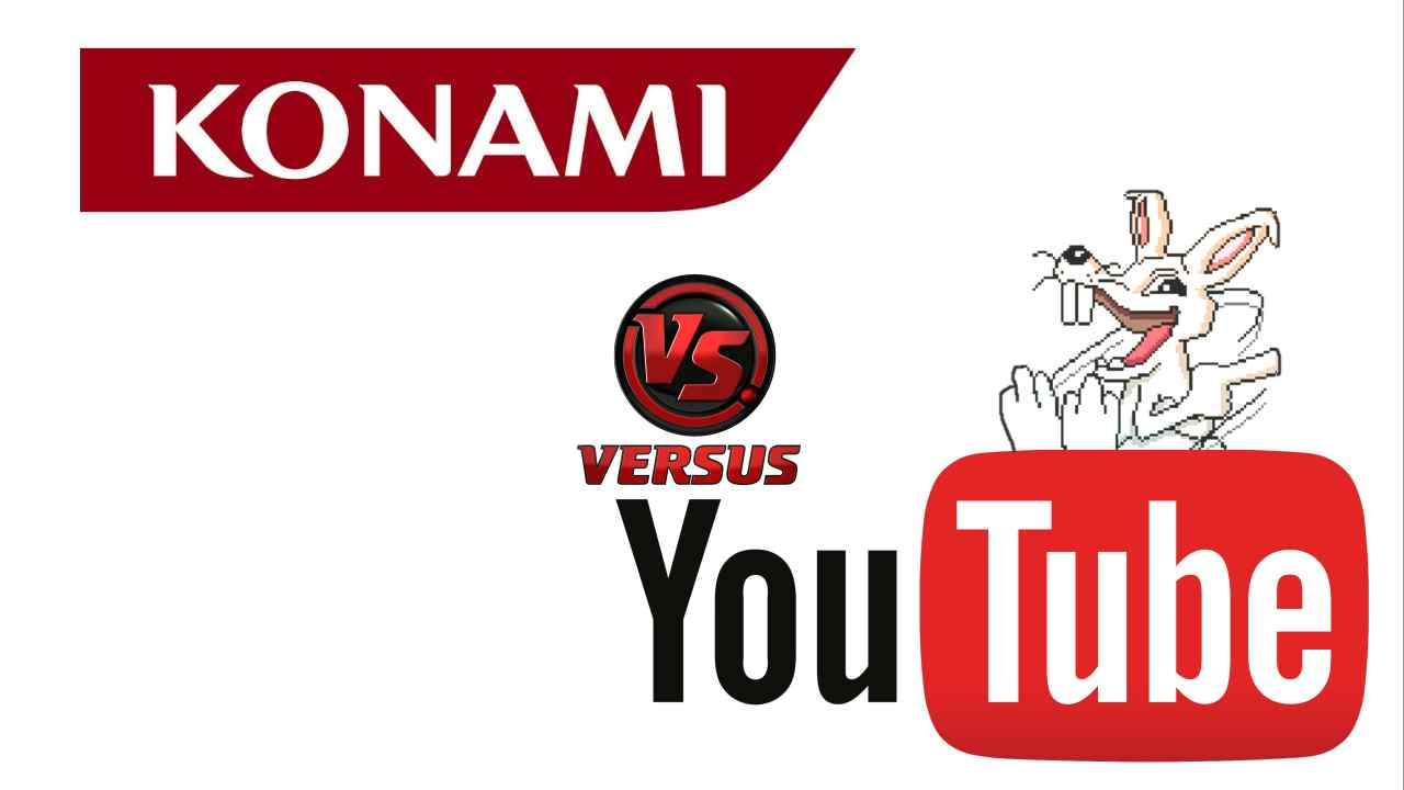 Konami vs Youtube