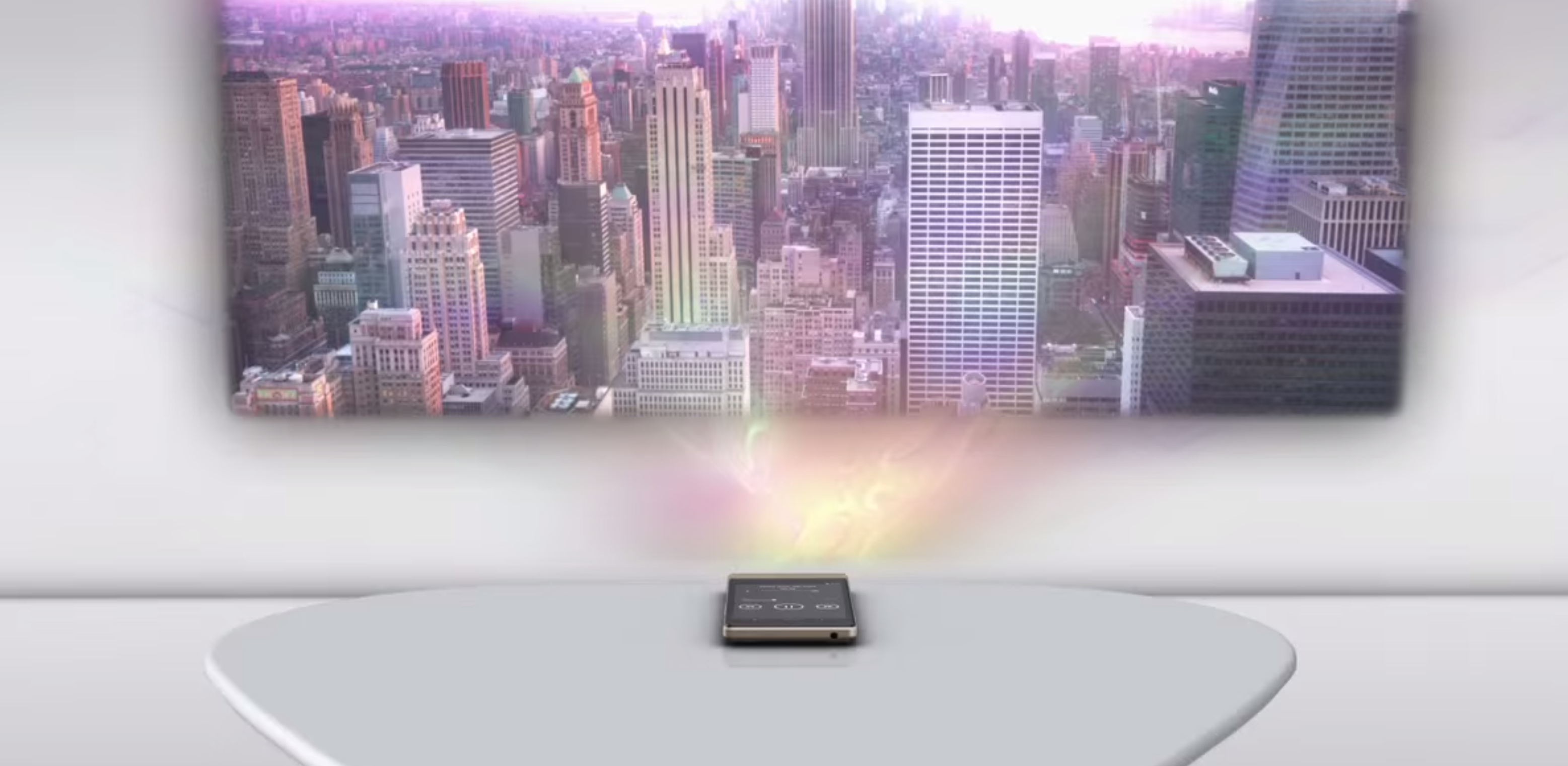 Photo of Lenovo Smart Cast este un telefon SF care iti poate proiecta… tastatura pe masa!