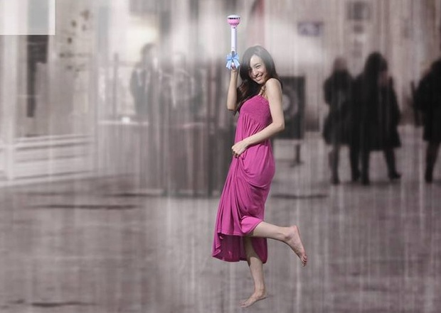 Photo of Air Umbrella: umbrela invizibila