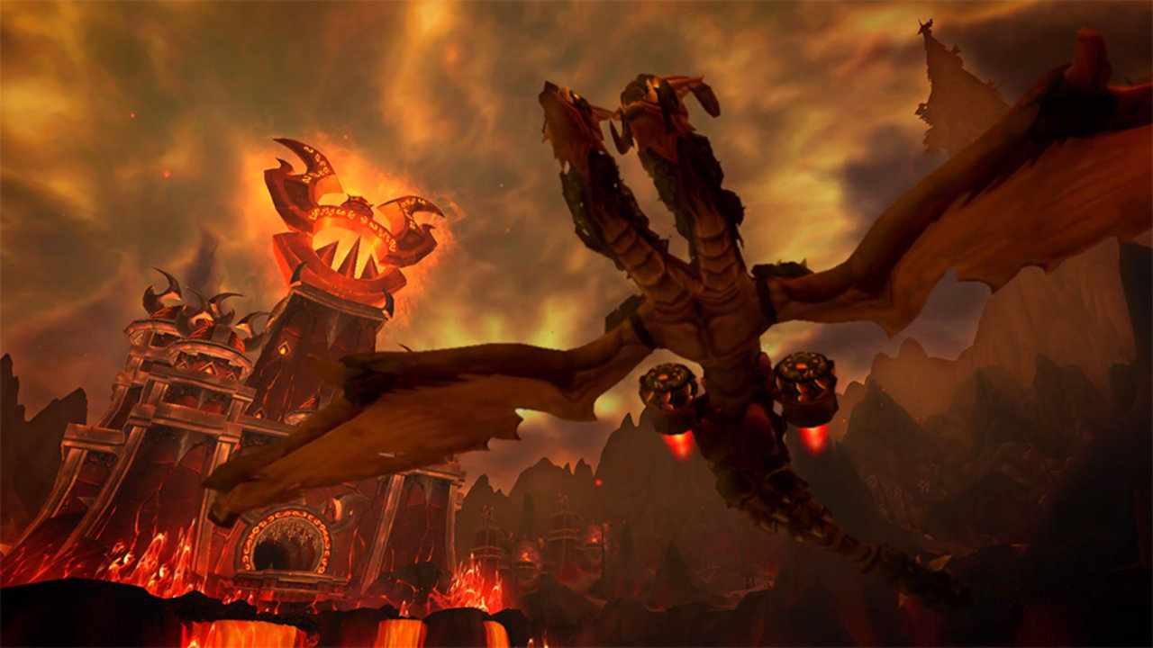 Photo of Fara flying mount  in Warlords of Draenor!