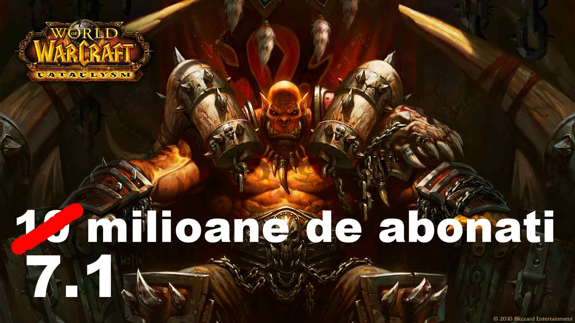 Photo of World of Warcraft a pierdut 3 milioane de abonati in cateva luni!