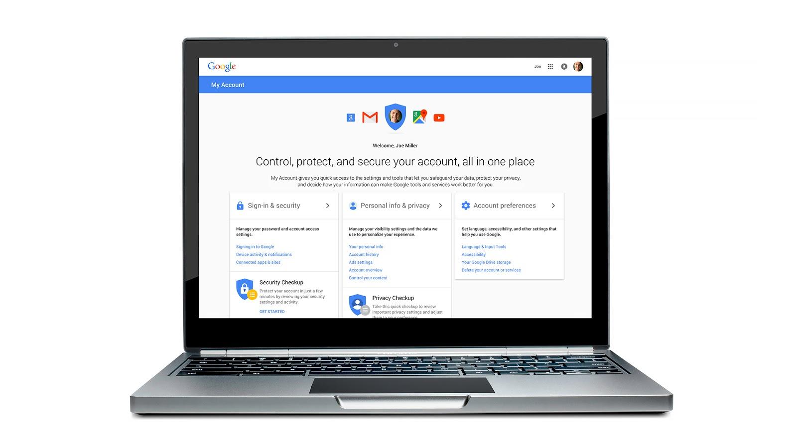 "Photo of Google Account ofera o metoda mai simpla de a-ti ""asigura"" si controla conturile"