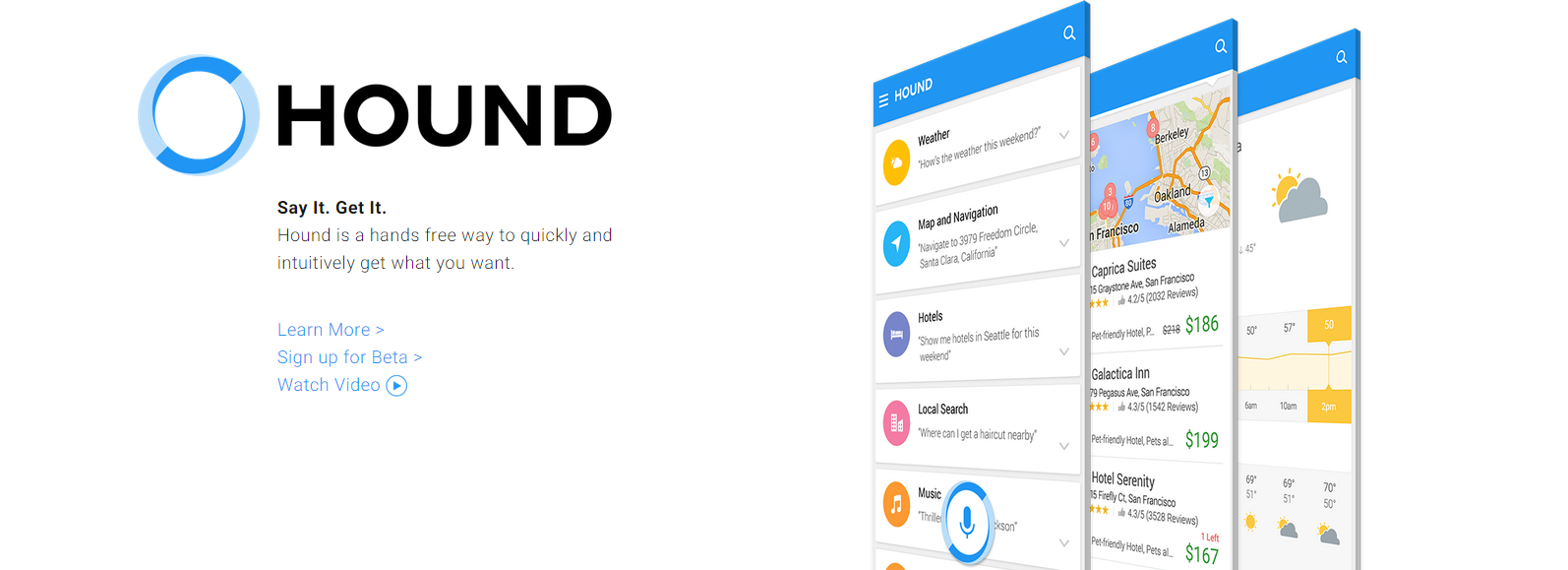 Photo of Hound Voice Search – Un competitor istet pentru Siri si Google Now!