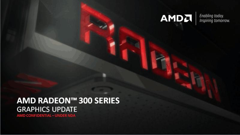Seria AMD Radeon 300