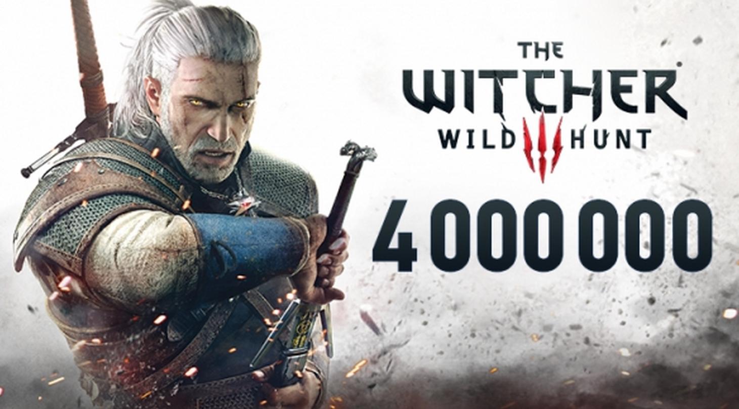 Witcher 3 a vandut 4 milioane