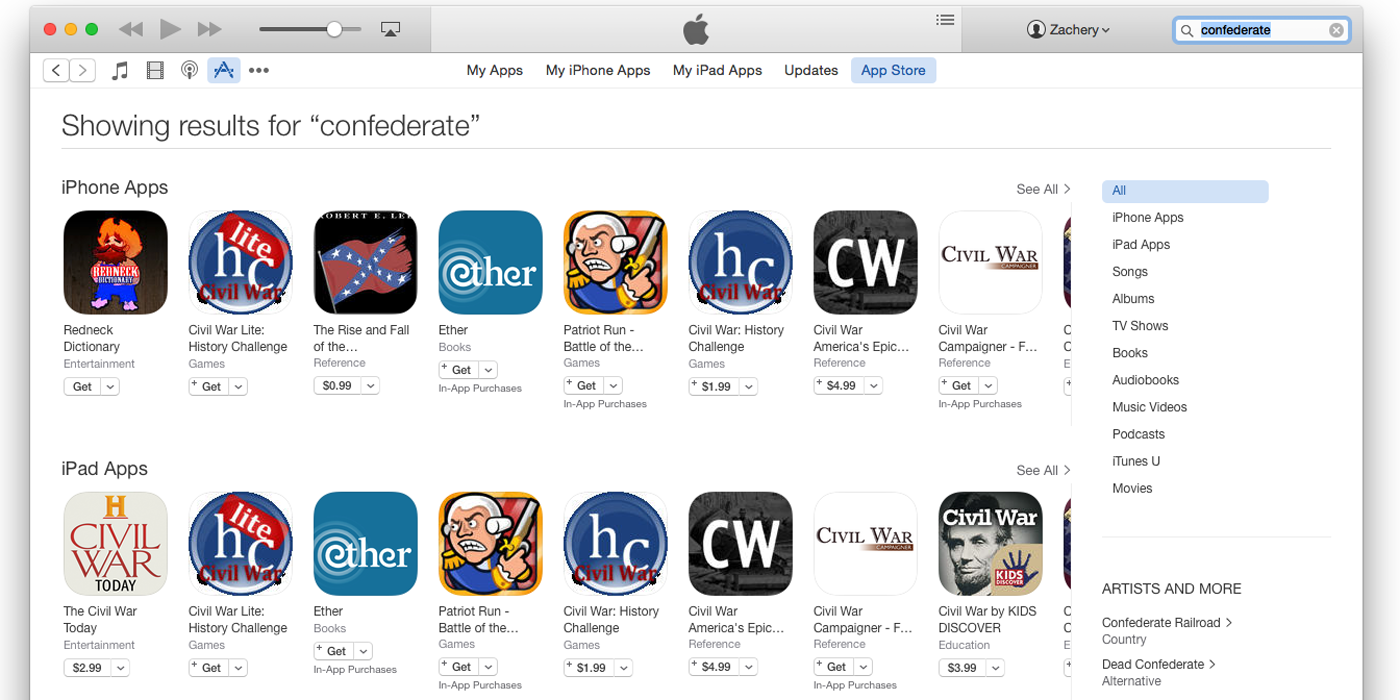 "Photo of Apple scoate de pe App Store jocurile care ""fluturau"" steagul confederat!"