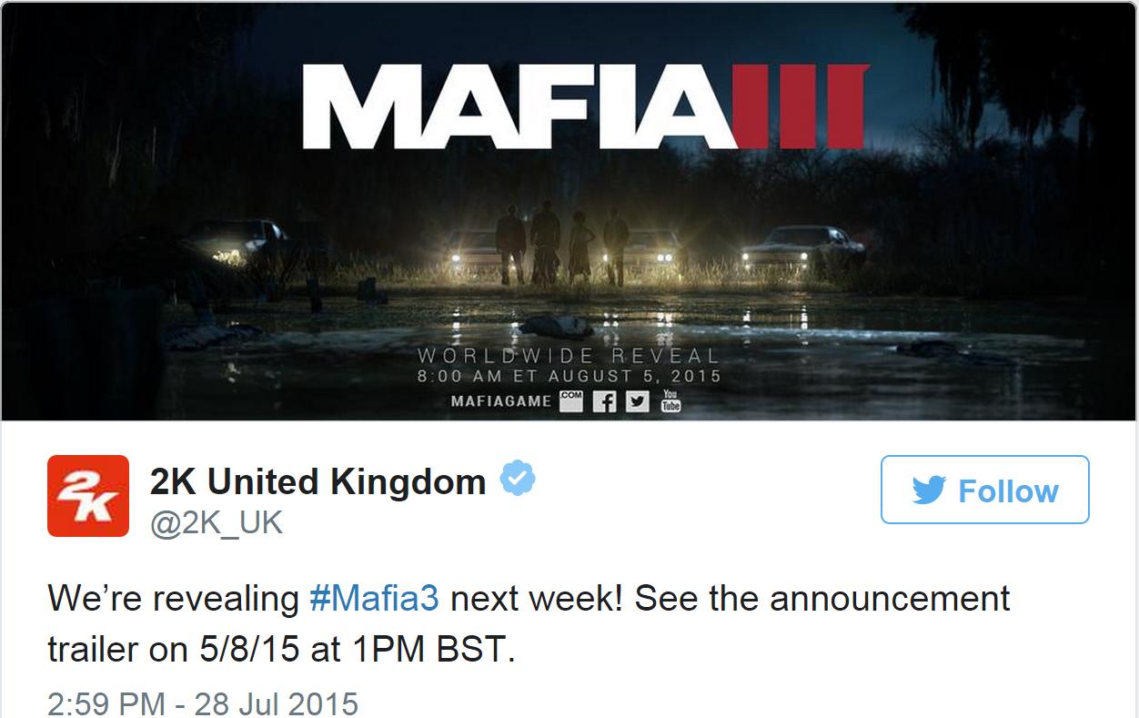 Photo of Mafia 3, anuntat in mod oficial!