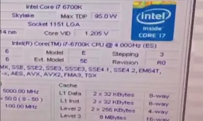 Skylake Core i7-6700K