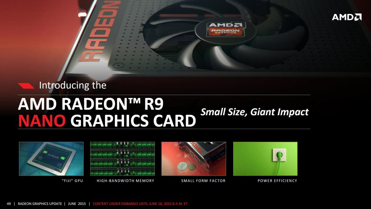 Photo of AMD Radeon R9 Nano va fi lansata in August!