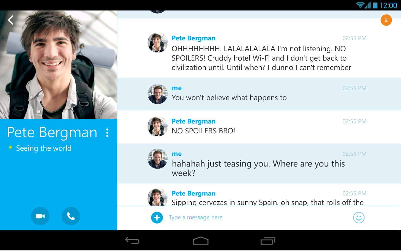 Photo of Skype 4.7 Mod pentru Android – Functii noi si bug fix!