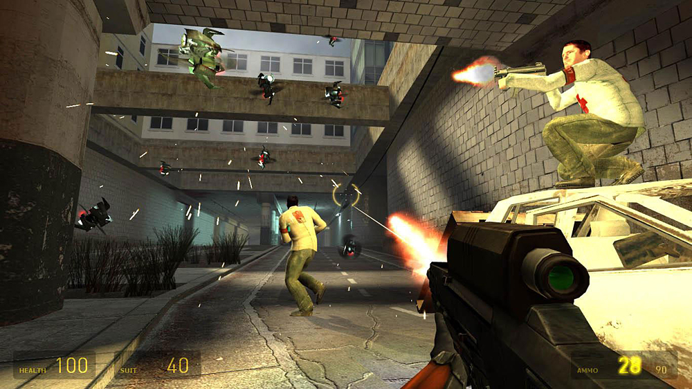 Drone ca in Half Life 2, acum in realitate