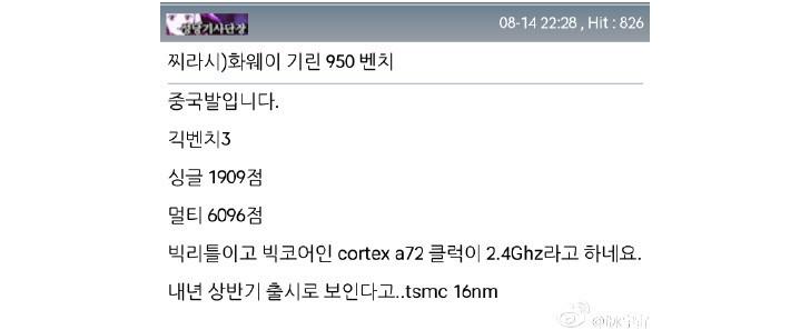 Photo of Huawei Kirin 950, mai bun decat Exynos 7420!