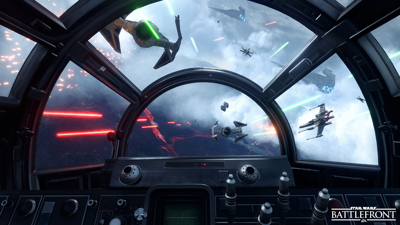 Photo of Fighter Squadron aduce si lupta aeriana in universul Star Wars Battlefront!