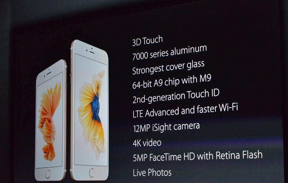 Photo of Apple iPhone 6S și iPhone 6S Plus au fost anunțate