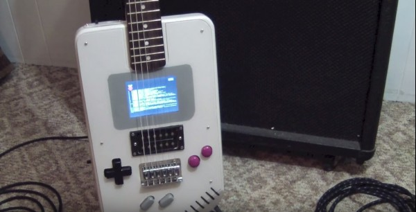 Photo of GuitarBoy – Prima chitara gameboy functionala din lume