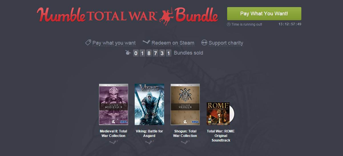 Photo of Seria Total War este pe Humble Bundle
