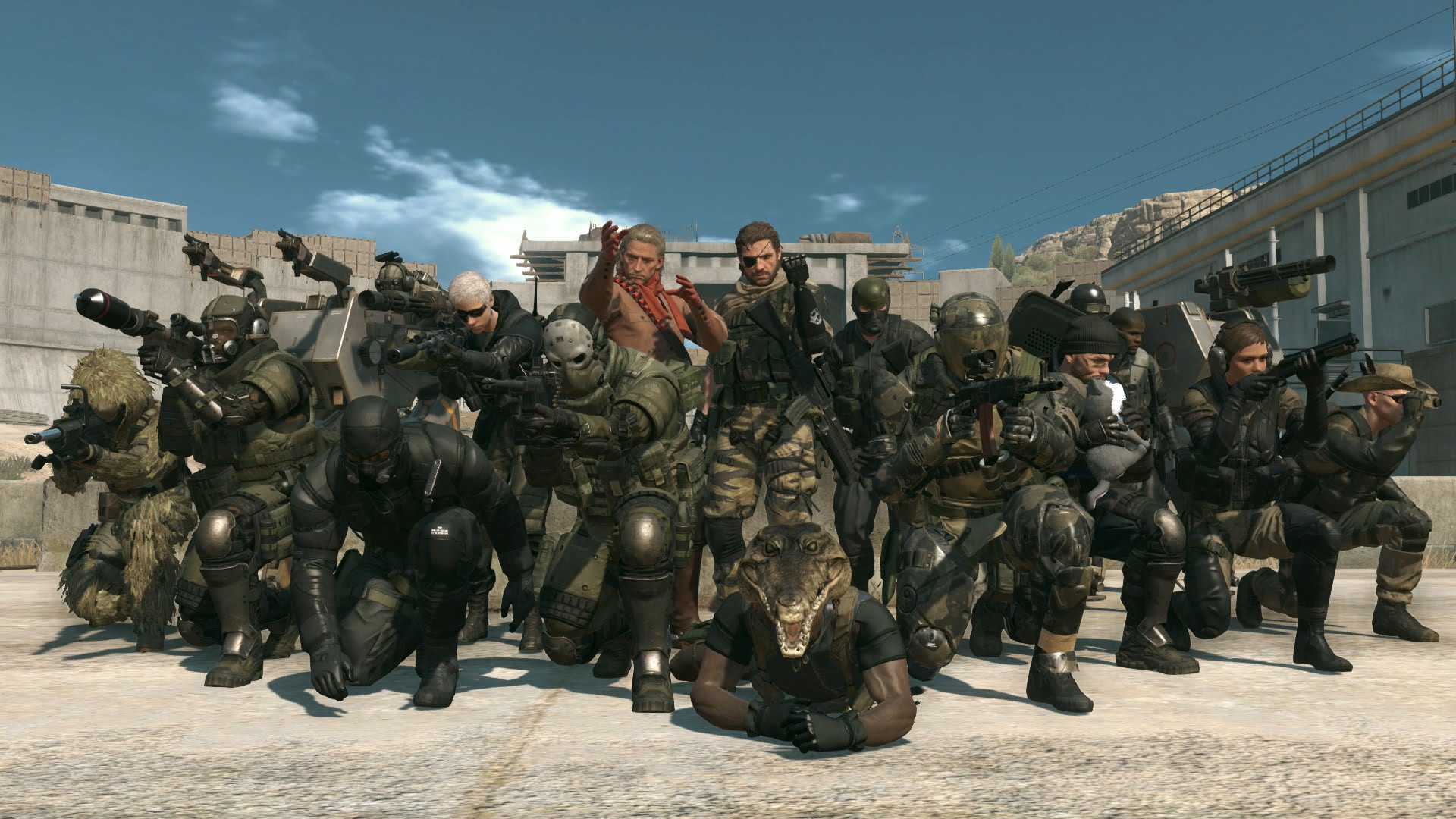 Photo of Metal Gear Online Beta incepe astazi