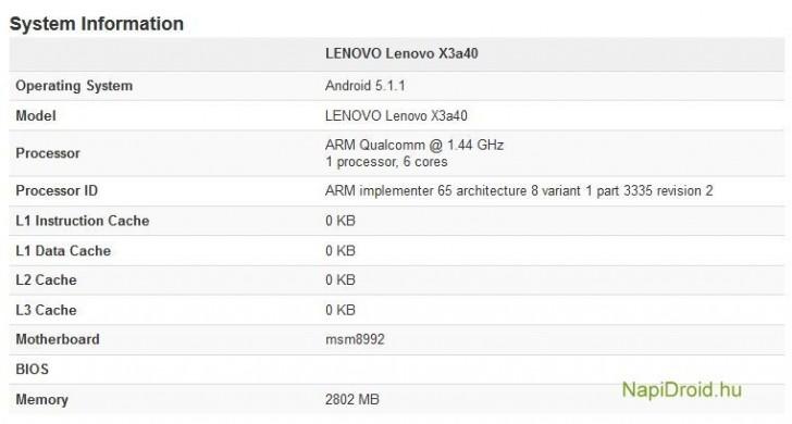 Photo of Specificatiile lui Lenovo Vibe X3 isi fac aparitia