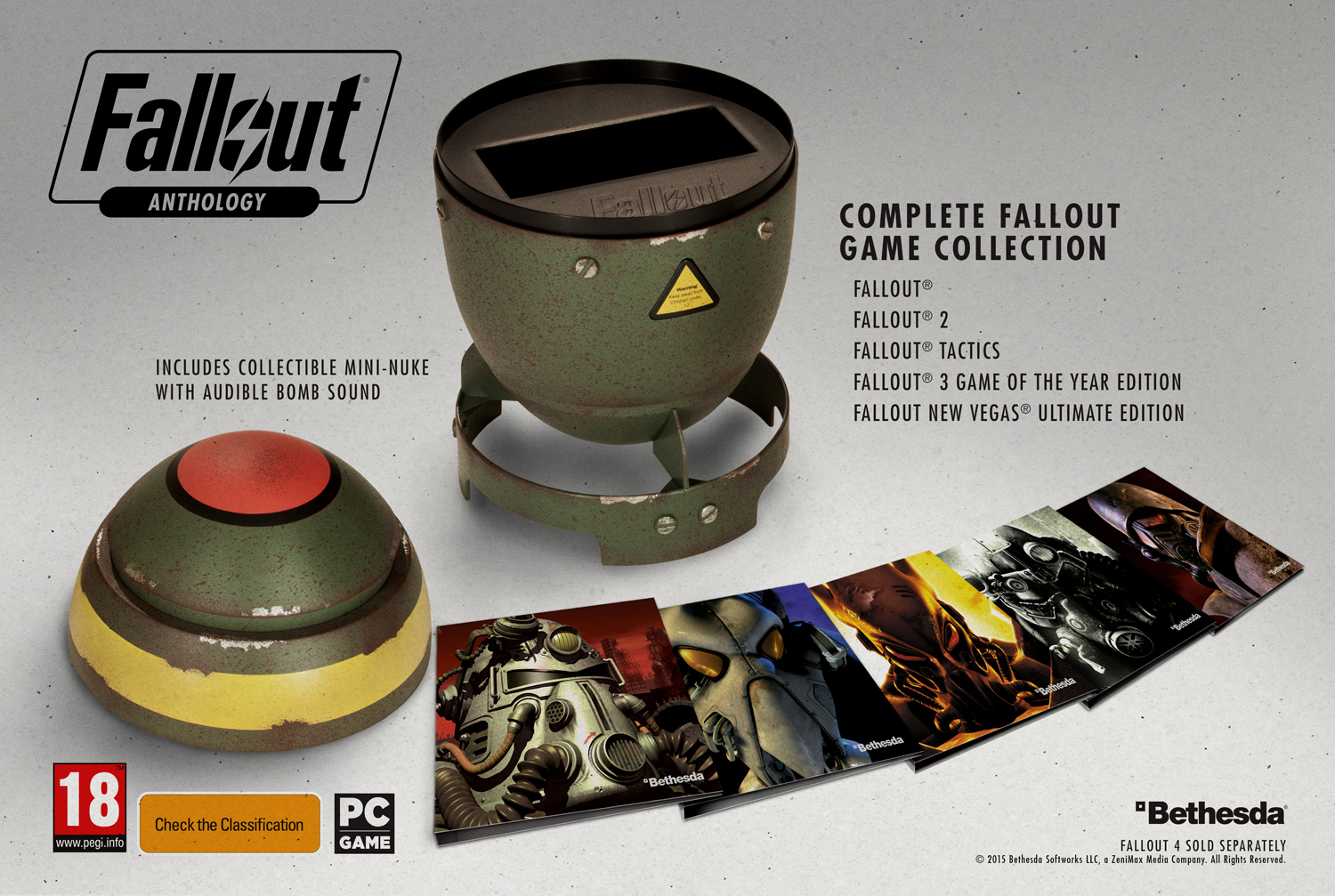 Photo of Fallout Anthology vine intr-o mini bomba nucleara