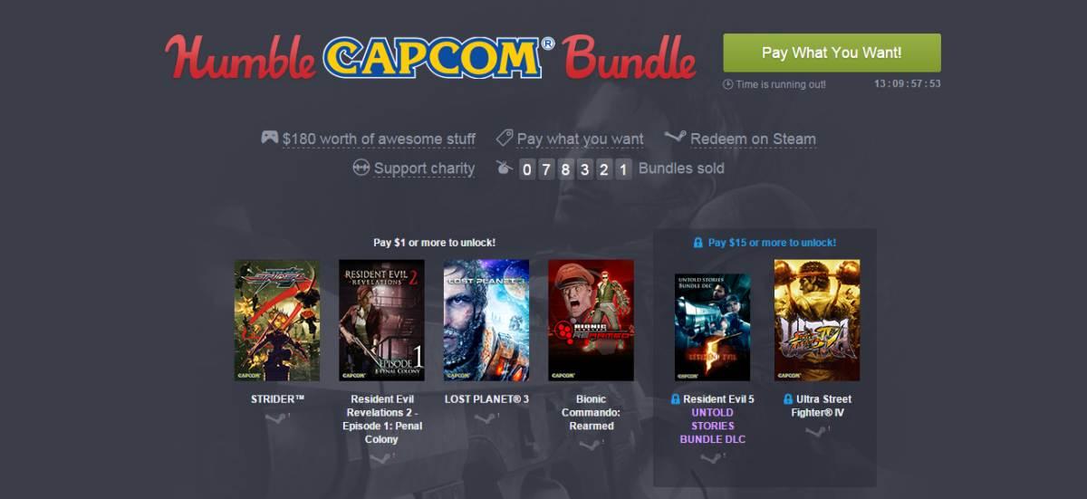 Photo of Capcom la promotie Humble Bundle
