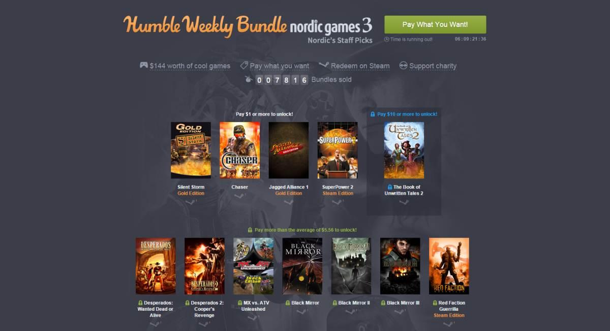 Photo of Humble Bundle cu Nordic Games
